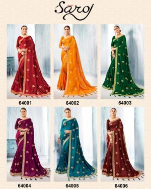 Saroj Saree Deepika 64001-64006 Price - 7170