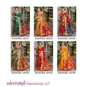 Varsiddhi Fashion Mintorsi Karuna 18101-18106 Price - 7050