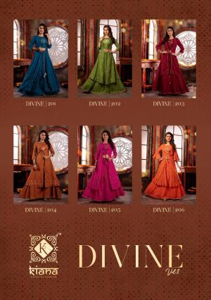 Kiana House Of Fashion Divine 201-206 Price - 7200