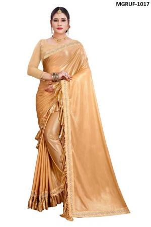 Ruffle Saree Collection 1017 Price - 999