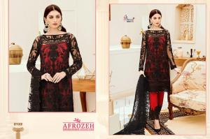 Shree Fabs Afrozeh Embroidered Collection 2122 Price - 1431