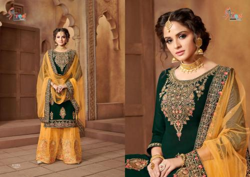 Shree Fabs Shehnai Bridal Collection Vol-21 6106-6109 Series