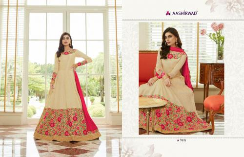 Aashirwad Creation Mor-Bagh Queen 7051-7053 Series