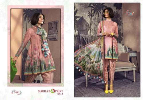 Shree Fabs Mariya B MPrints Vol-4 5641-5648 Series