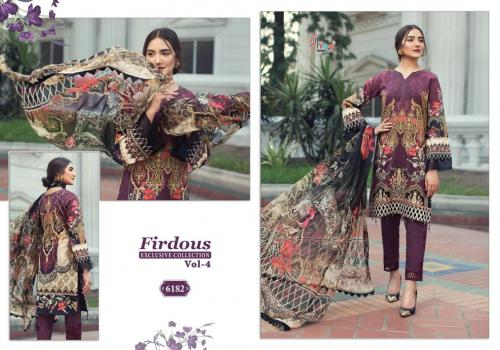Shree Fab Firdous Exclusive Collection Vol-4 6182-6188 Series