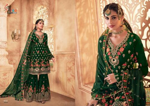 Shree Fabs Shehnai Vol-20 Bridal Collection 6101-6105 Series
