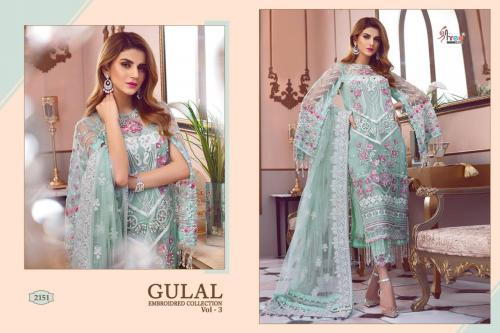 Shree Fabs Gulaal Embroidered Collection Vol-3 2151-2156 Series