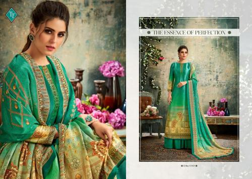 Tanishk Fashion Bloom-Aasam Silk 13101-13108 Series