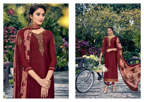 Tanishk Fashion Royal Silk French Crape Vol-8 12501-12508 Series