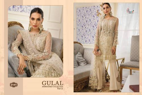 Shree Fabs Gulaal Embroidered Collection Vol-2 2141-2146 Series