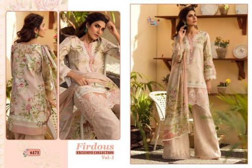 Shree Fabs Firdous Exclusive Collection Vol-3 6171-6177 Series