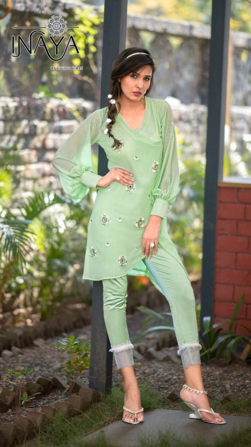 Studio Libas Inaya Luxury Pret Collection 46 Tunic Pant