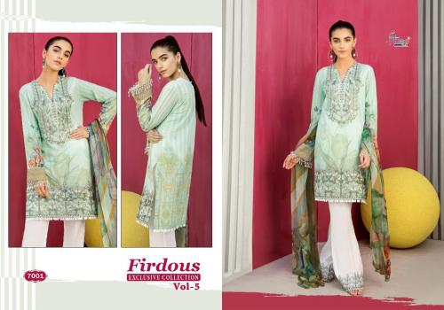 Shree Fab Firdous Exclusive Collection Vol-5 7001-7006 Series