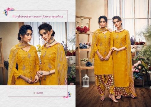 Kay Vee Suits Hussan-E-Patiyala 137001-137008 Series